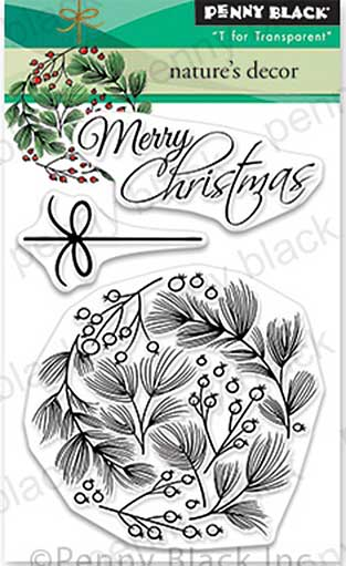 Penny Black Clear Stamps - Natures Décor