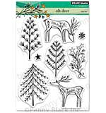 Penny Black Clear Stamps - Oh Deer