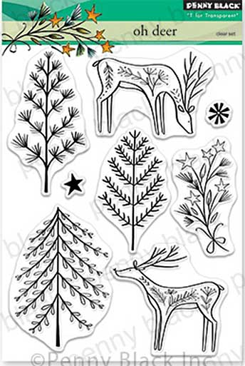 SO: Penny Black Clear Stamps - Oh Deer