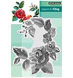 SO: Penny Black Cling Stamps - Garden Gems