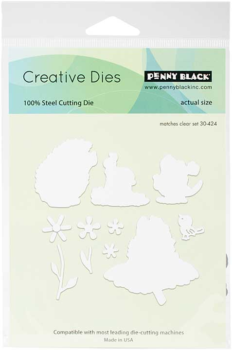 Penny Black Creative Dies - Critters