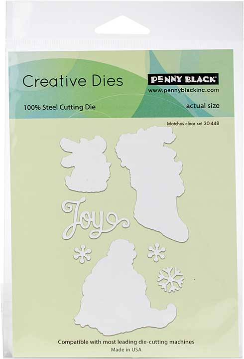 Penny Black Creative Dies - Merry Delight Cut Out