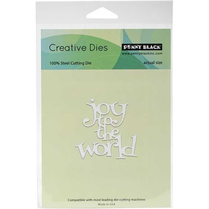 Penny Black Creative Dies - Joy to the World