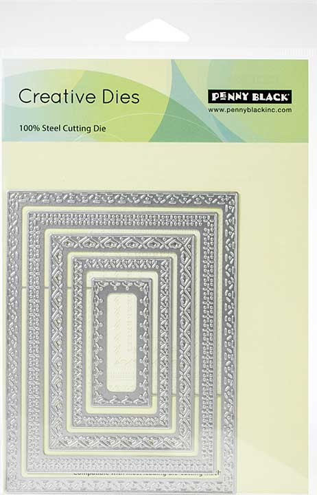 Penny Black Creative Dies - Stitches Of Love