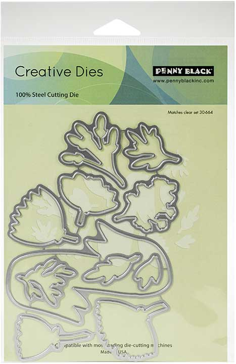 Penny Black Creative Dies - Banner Blooms Cut Out
