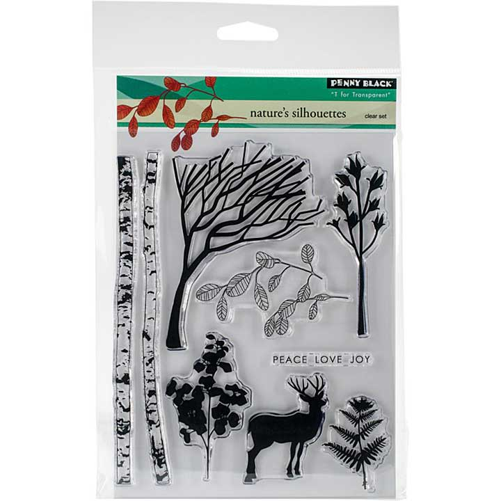 Penny Black Clear Stamps - Natures Silhouettes