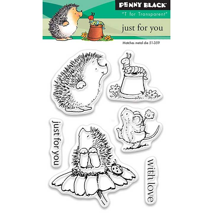 Penny Black Clear Stamps - Just For You Mini