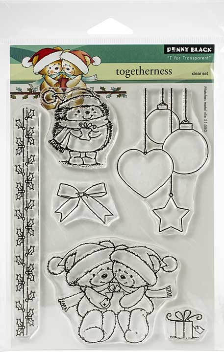Penny Black Clear Stamps - Togetherness