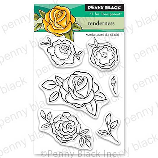 Penny Black Clear Stamps - Tenderness Mini