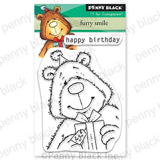 Penny Black Clear Stamps - Furry Smile Mini