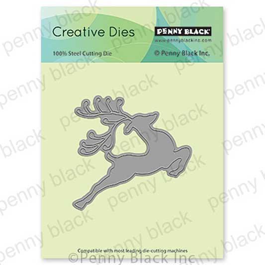Penny Black Creative Dies - Reindeer Leaps