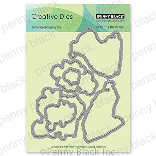 Penny Black Creative Dies - Festive Frolic Cut Out