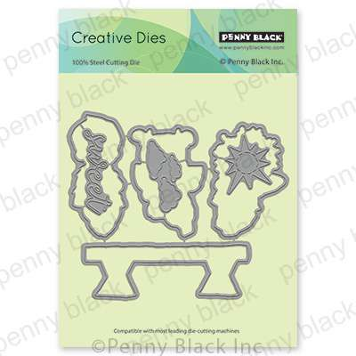 Penny Black Creative Dies - Yummy Cut Out