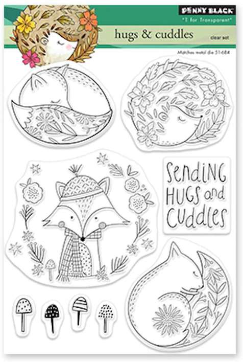 Penny Black Clear Stamps - Hugs and Cuddles