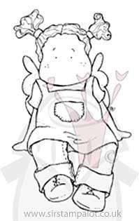 Magnolia EZ Mount - Tilda wearing Apron