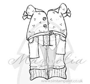 Magnolia EZ Mount - Dress Up - Blouse and Long Jeans