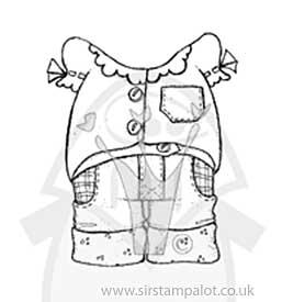 Magnolia EZ Mount - Dress Up - Blouse and Short Jeans