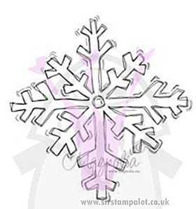 Magnolia EZ Mount - Giant Snowflake