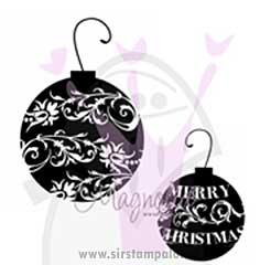Magnolia EZ Mount - Black Ornaments