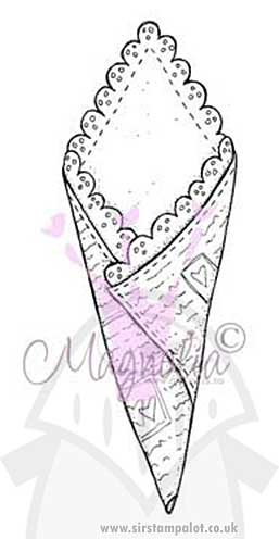 SO: Magnolia EZ Mount Stamp - Valentine Cone