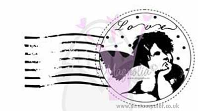 Magnolia EZ Mount Stamp - POST Angel Love
