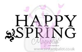 Magnolia EZ Mount - Happy Spring