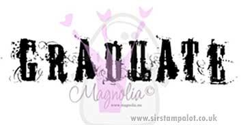 Magnolia EZ Mount - Graduate Grunge (text)