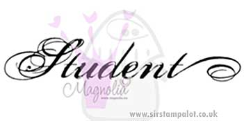 Magnolia EZ Mount - Student Flourish (text)