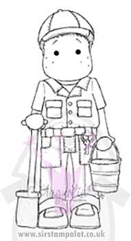 Magnolia EZ Mount - Edwin as Animal Keeper