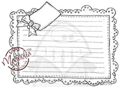 Magnolia EZ Mount - Recipe Card [X9336N]