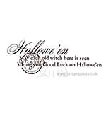 Magnolia EZ-Mount - Halloween may (text)