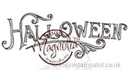 Magnolia EZ-Mount - Halloween (text)