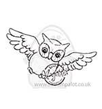 SO: Magnolia EZ-Mount - Flying Owl