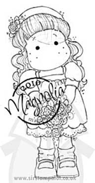 Magnolia Wedding - Tilda With Veil