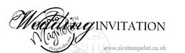 Magnolia Wedding - Wedding Invitation (text)