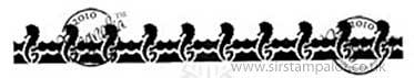 Magnolia Bon Voyage - Seahorse Background