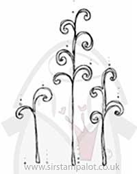Magnolia EZ Mount - Tildas Stanglar Swirl Grass