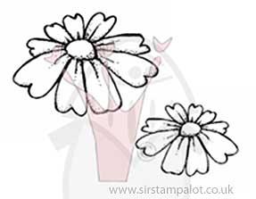 Magnolia EZ Mount - Daisy Heart Flowers