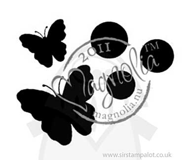 Magnolia Butterfly Dreams - Black Dots And Butterflies