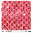 Magnolia Ink 12x12 Paper - Wild Red (10 sheets)