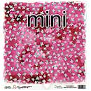 SO: Magnolia Ink Paper Mini - Dark Pink Rainbow Flower (10 Sheets)