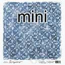 Magnolia Ink Paper - Mini Sweet Flurry Blue (Xmas 2011)