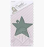 SO: Magnolia DooHickey Cutting Dies - Star Tag [1046]