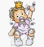Princes and Princesses - Baby Tilda [Y0078J]