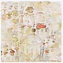 Magnolia Ink 12x12 Paper - Vintage Mushrooms (10 sheets)