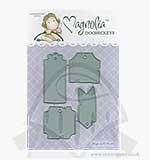 SO: Magnolia DooHickey Cutting Dies - Tea Label Tags Small [1054]