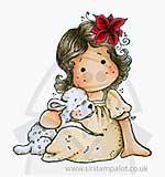 SO: Magnolia EZ Mount - Tilda with Cute Lamb [4029]