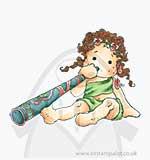AU12 Didgeridoo Tilda