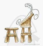 Magnolia Christmas Story - Santa Wishful Bench