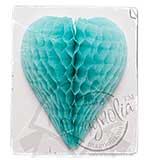 Magnolia - DooBeePops Vintage Honeycomb - Turquoise Poppy